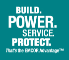 Build. Power. Service. Protect. That's the EMCOR Advantage.